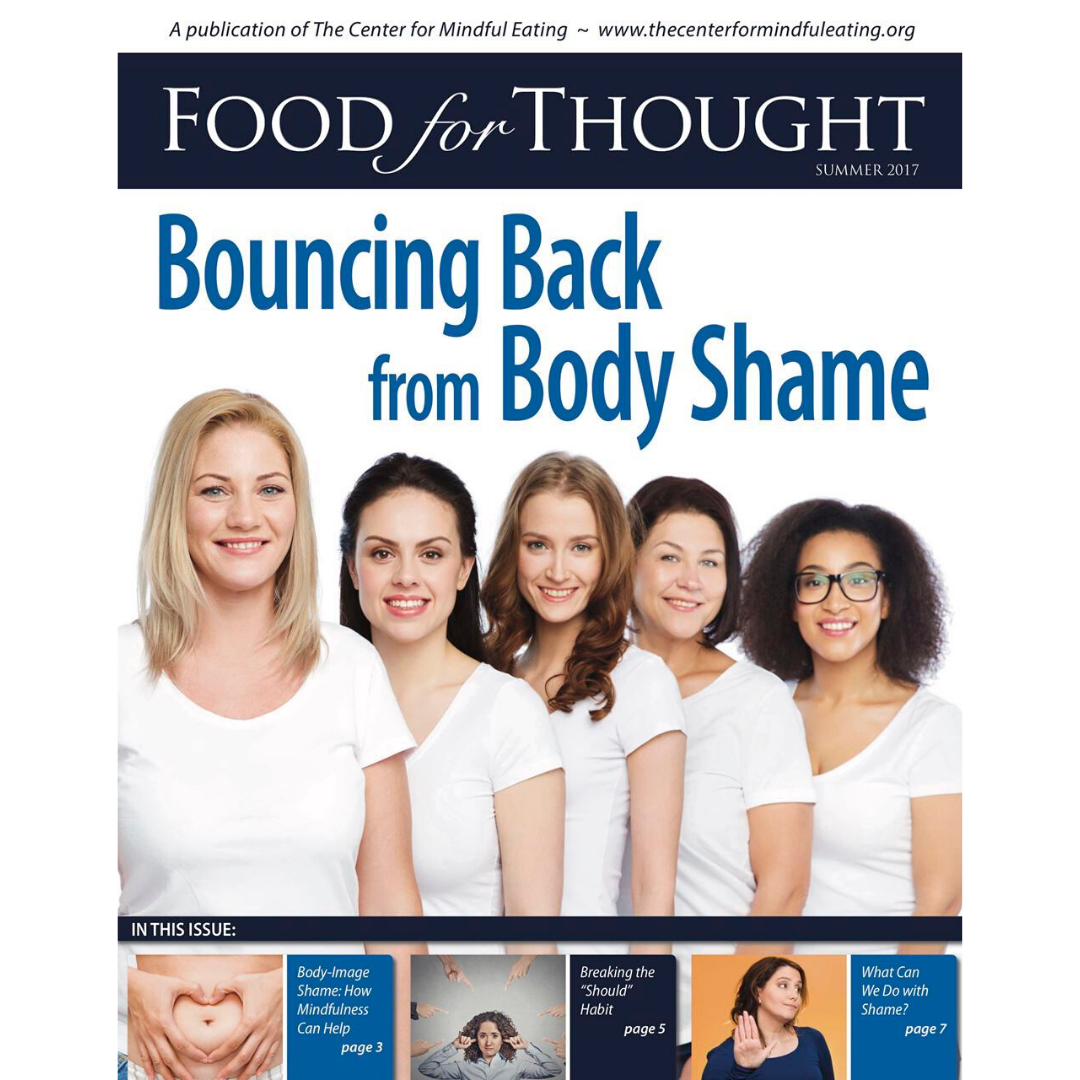 Food for Thought Summer 2017: Bouncing Back from Body Shame
