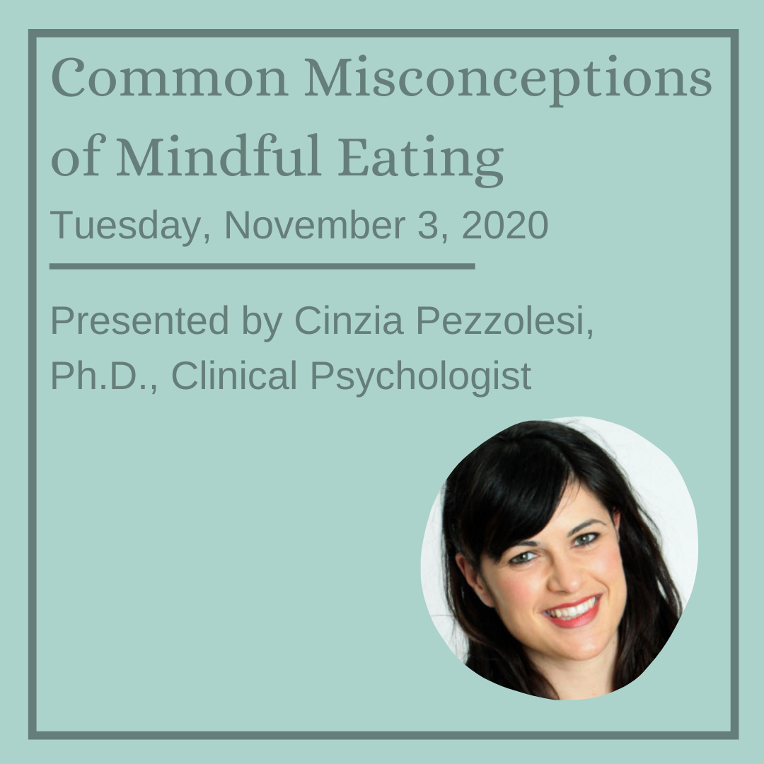 Common Misconceptions of Mindful Eating