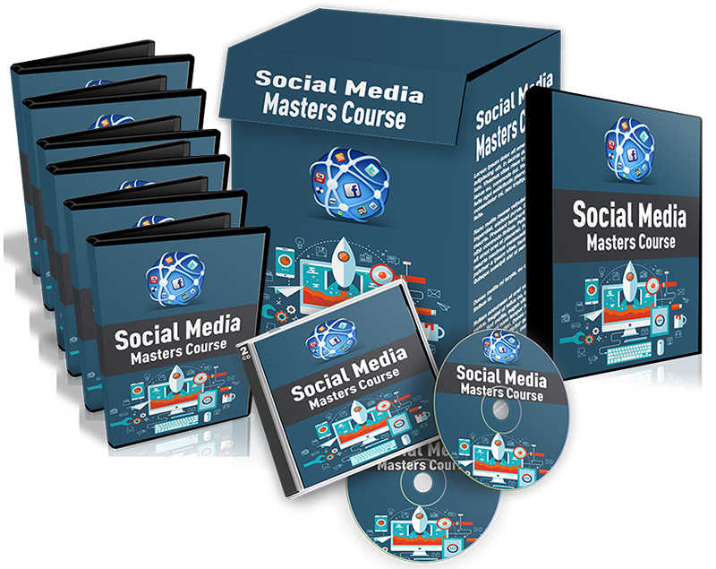 Social Media Masters Course - A complete course - 15+ videos & one eBook