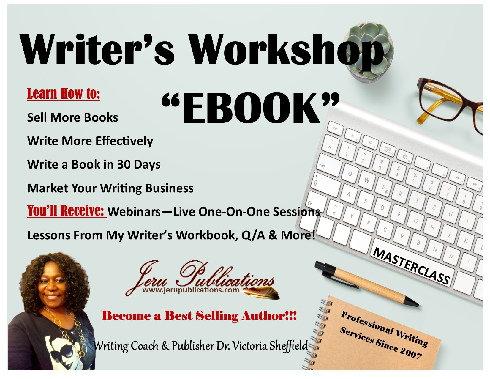 Writer's Masterclass Ebook