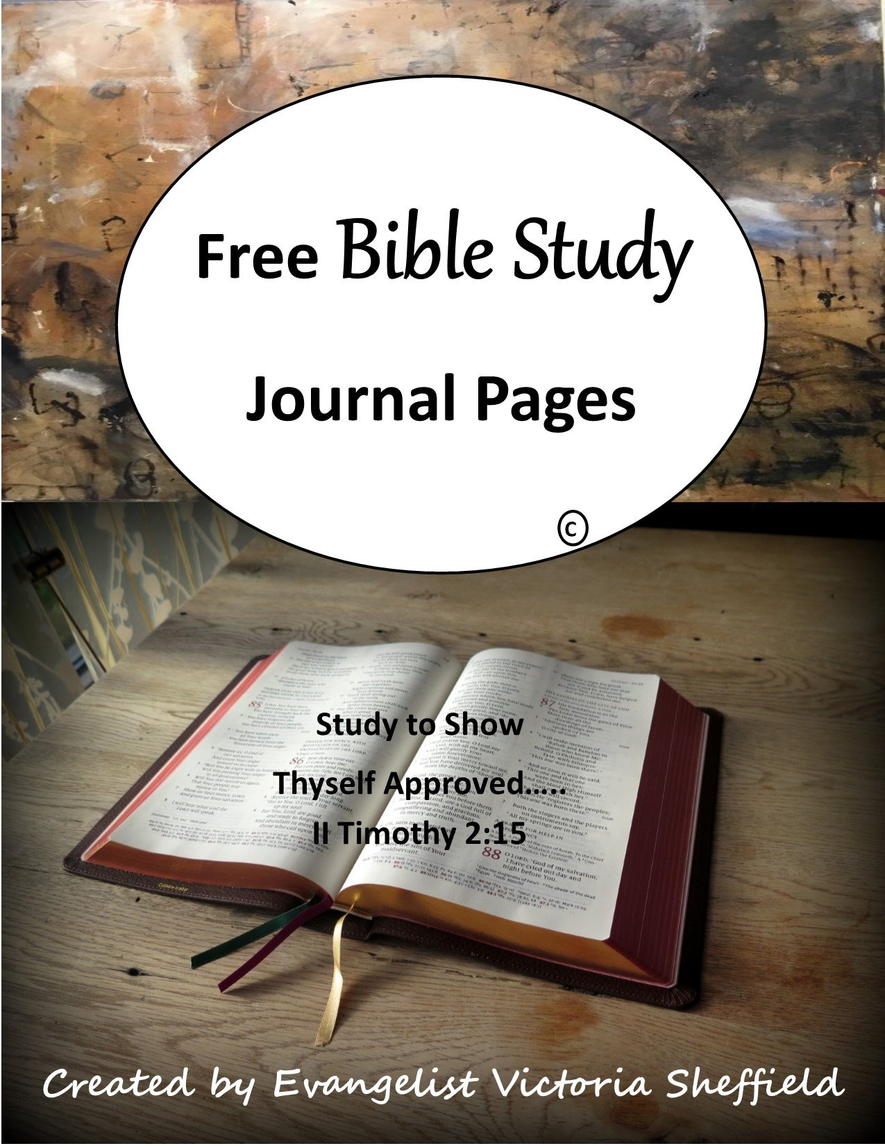 Free Bible Study Journal
