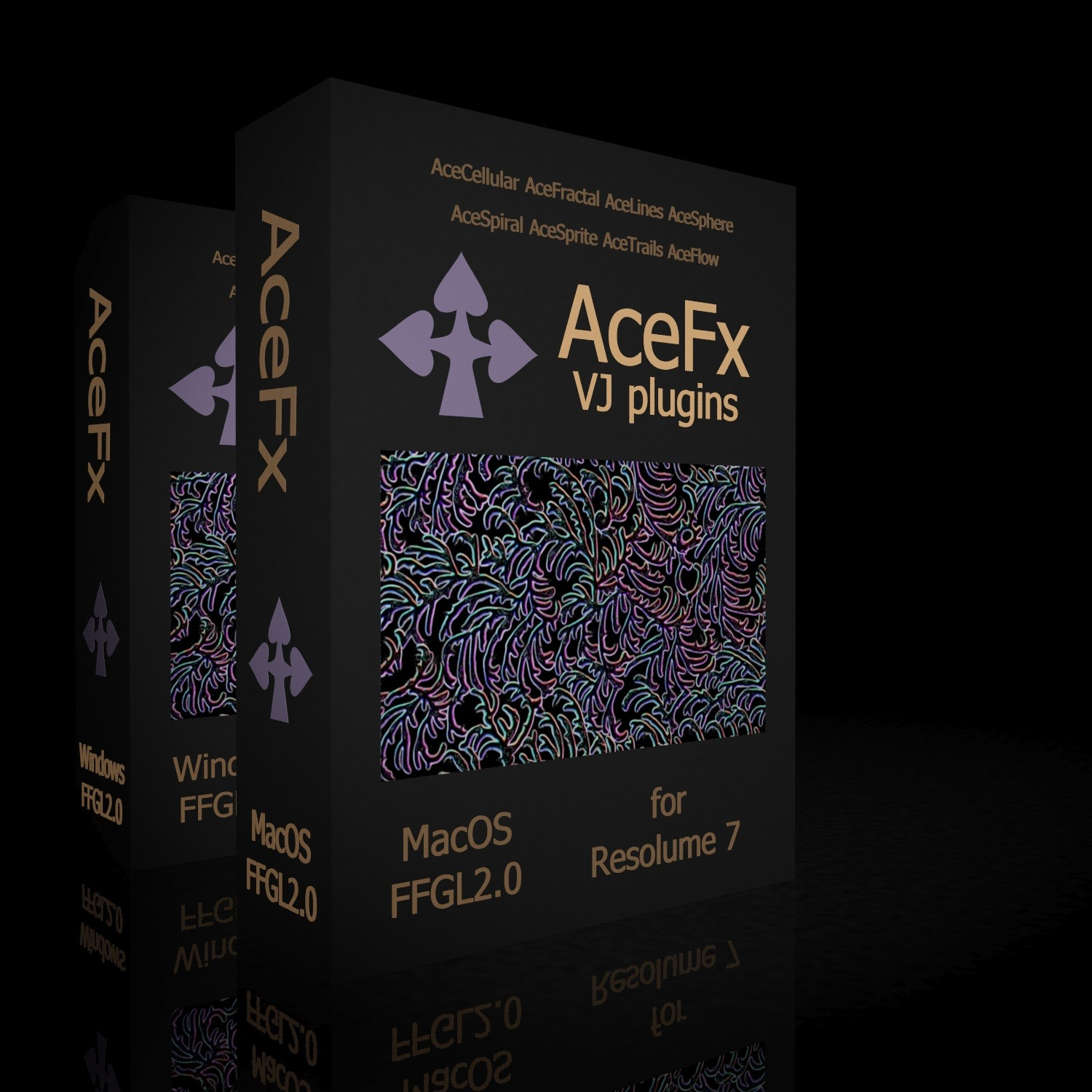 AceFX 2.0 VJ plugins for MacOS