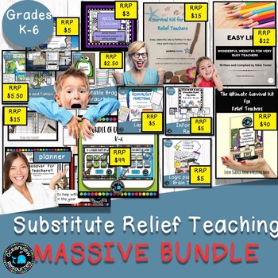 MASSIVE BUNDLE_ The Bonanaza Bundle and Ultimate Relief Teaching Kit