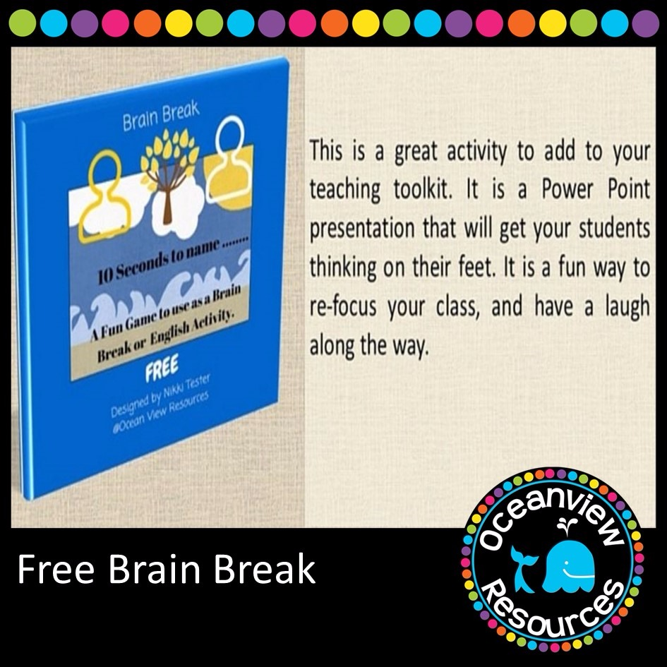 A free brain break