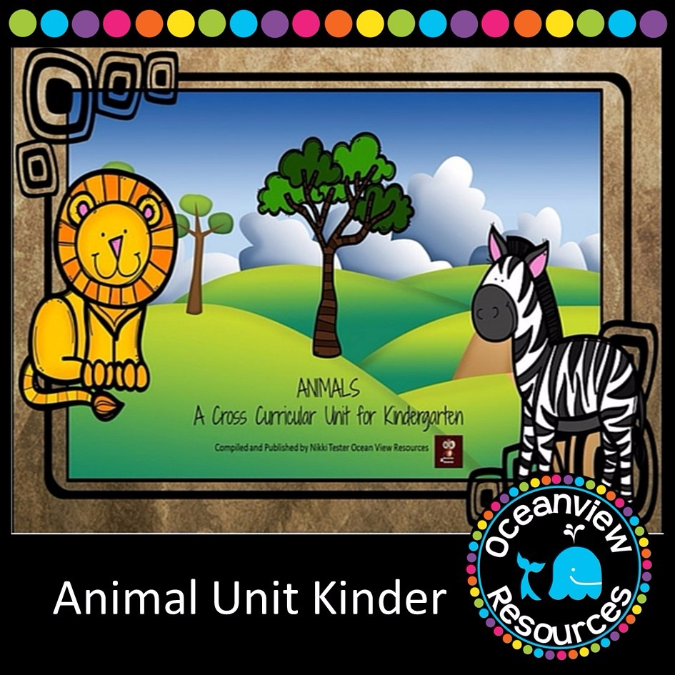 Kindergarten - Animal Themed Unit