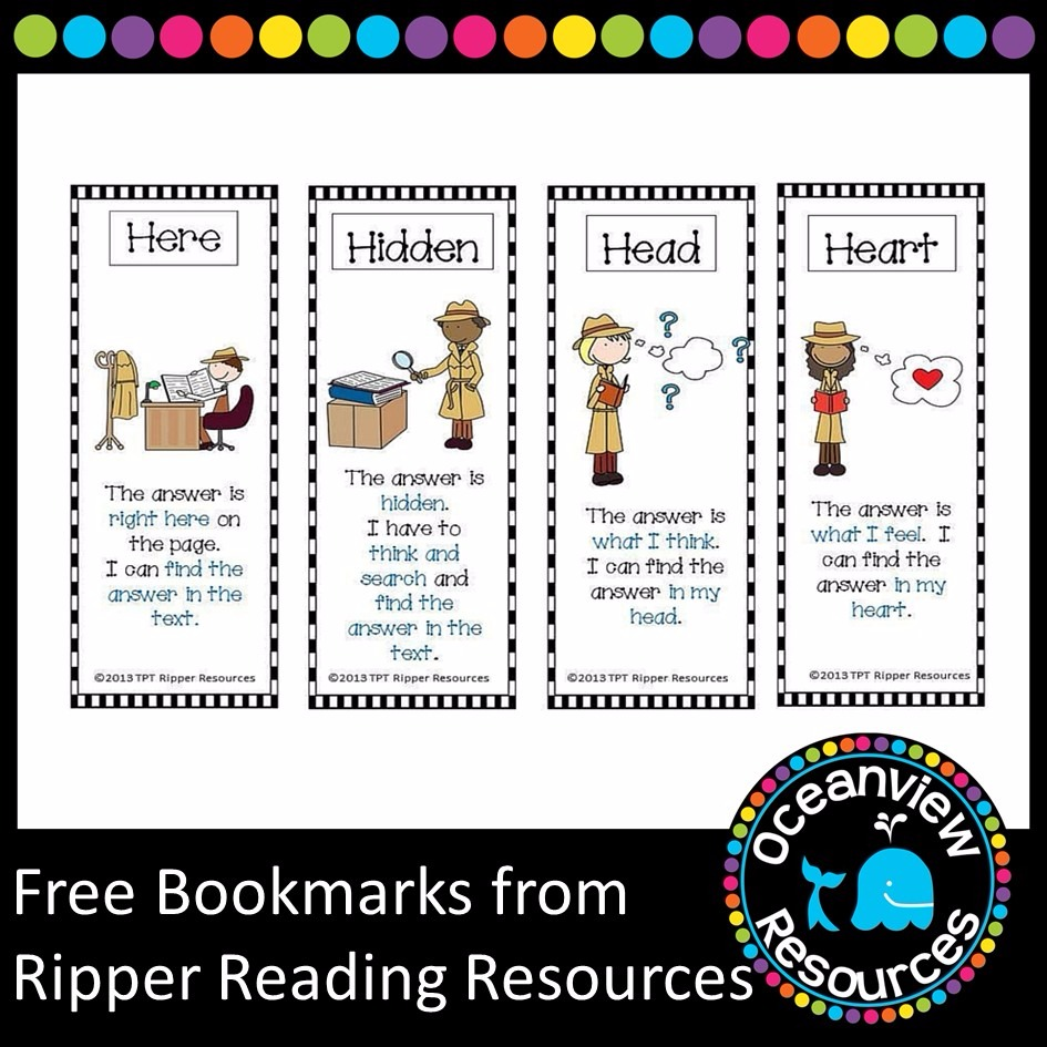 Free Resource from Ripper Reading Resources