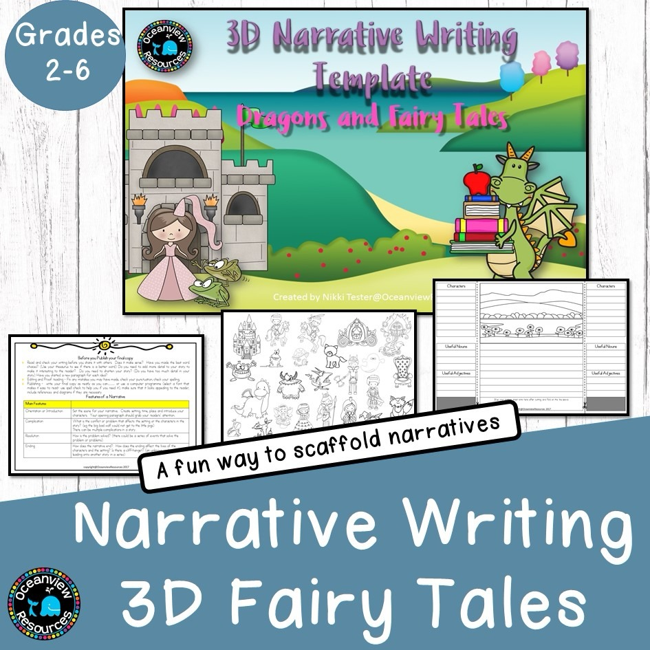 Dragons and Fairy Tales -Narratives 3D Story Template
