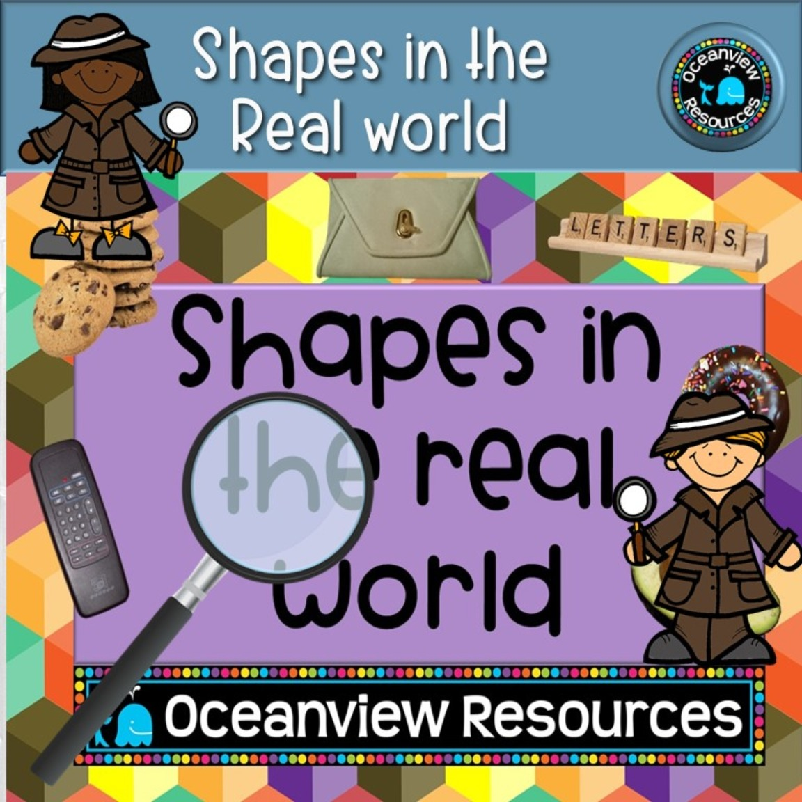 2D shapes in the Real World-PDF and PowerPoint