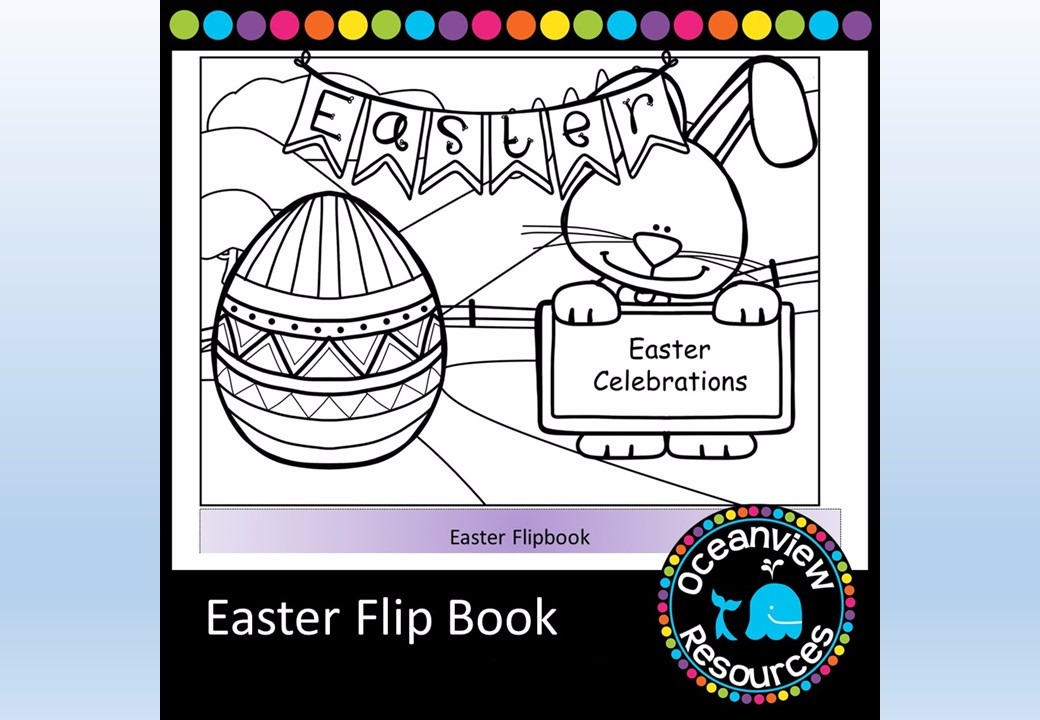 Easter Flipbook of Activities