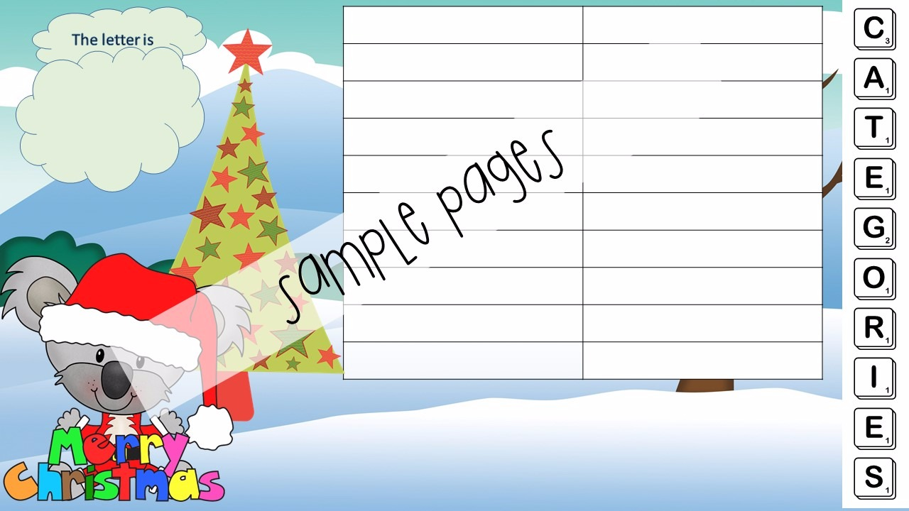 Christmas Themed activity bundle