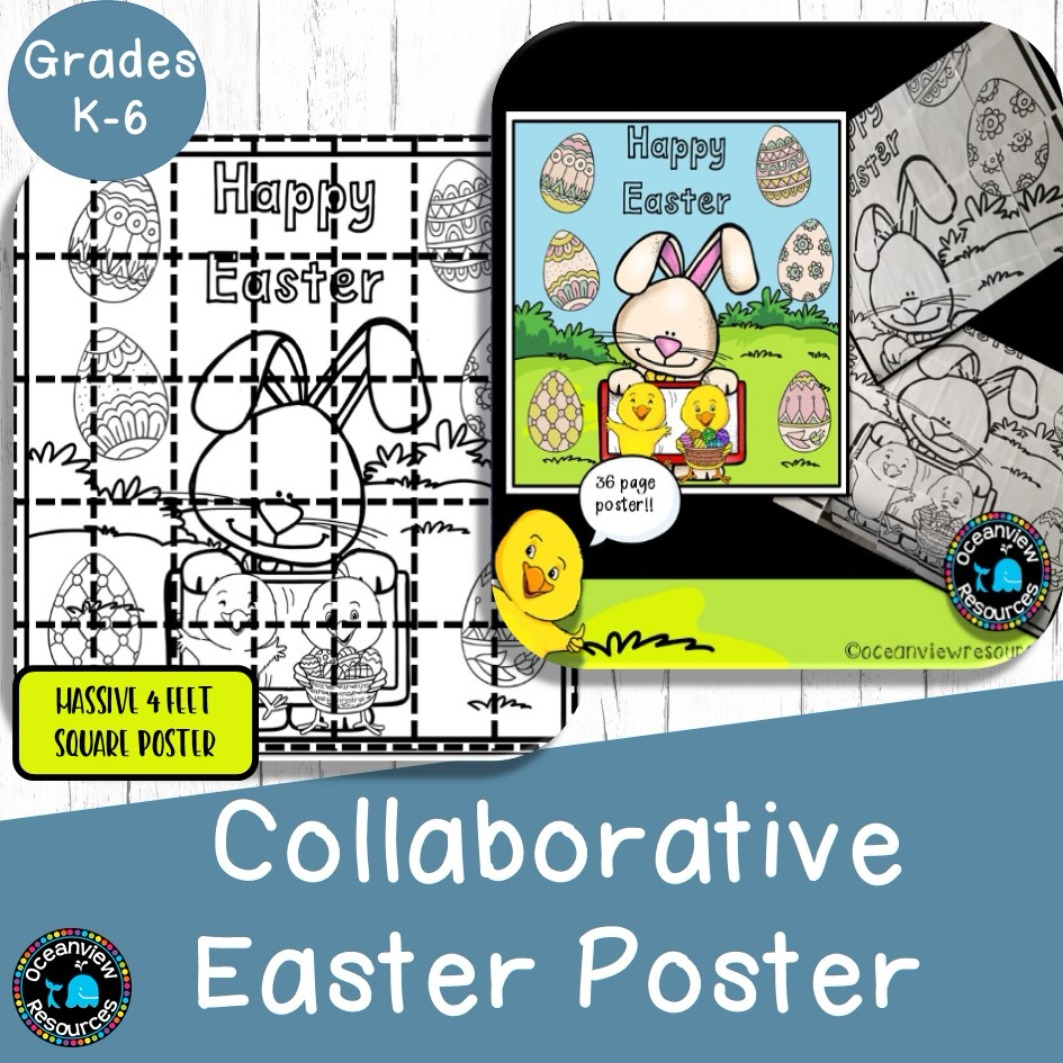 Collaborative Easter Poster