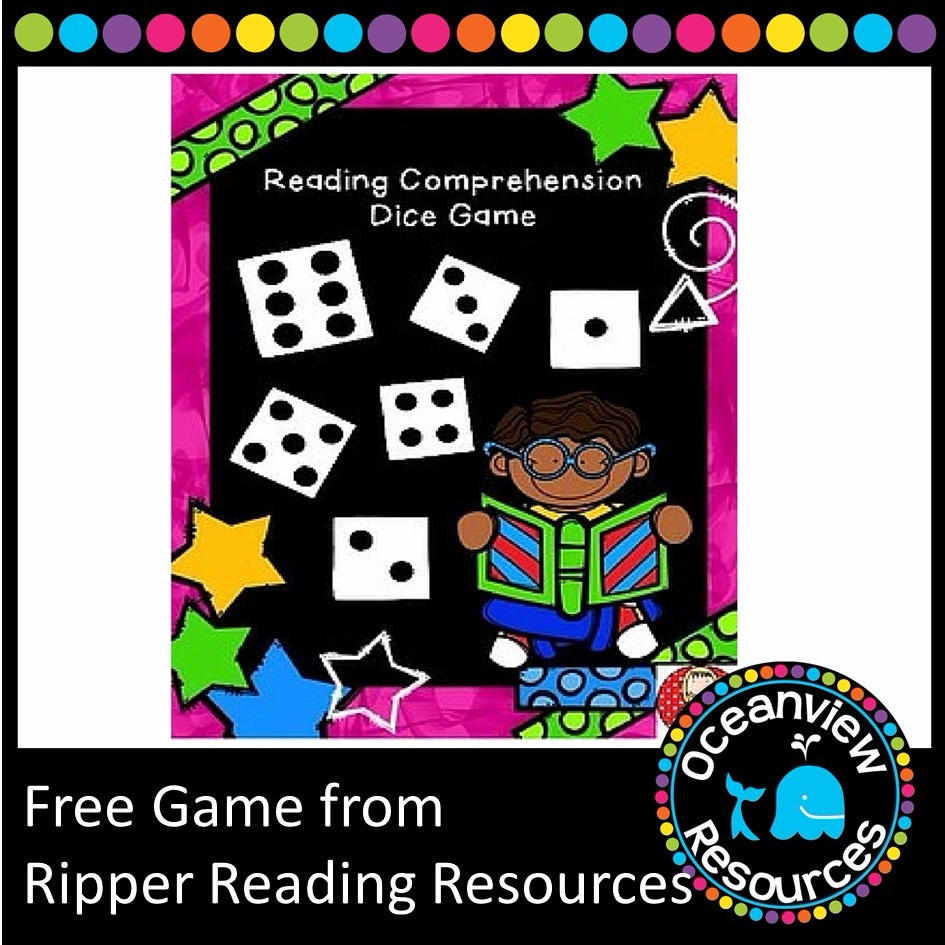Fantastic Freebie from Ripper Reading Resources