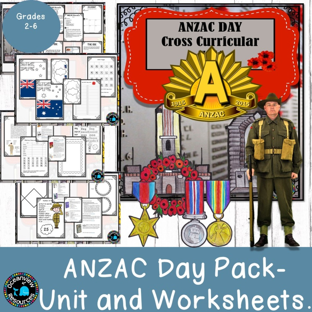 ANZAC day Cross Curricular unit K-6