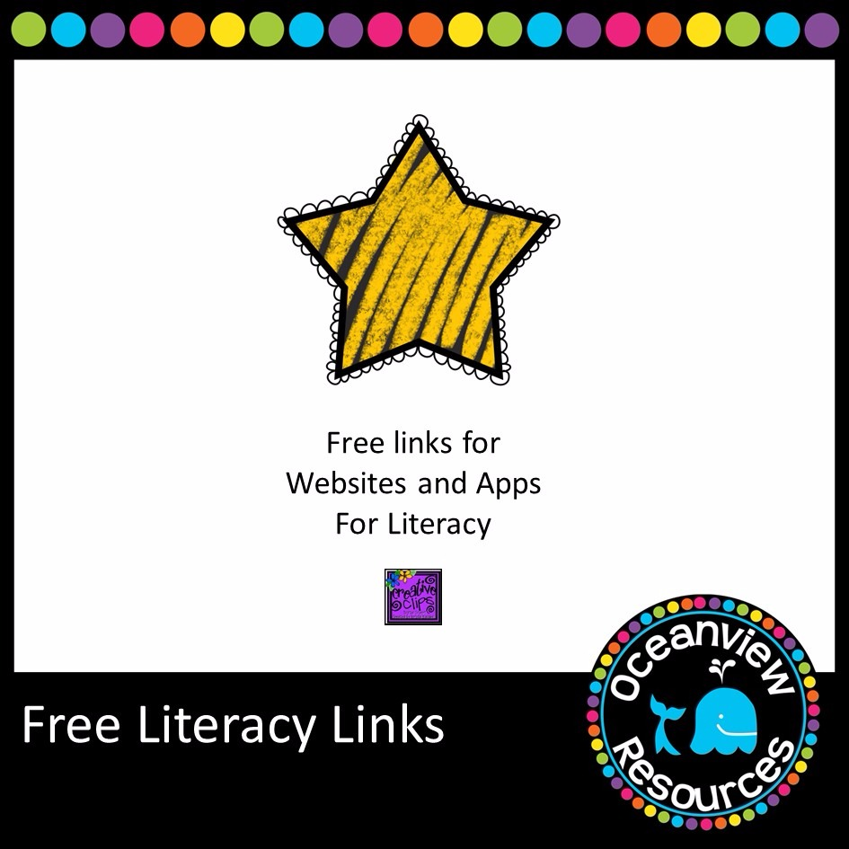 FREE.  Booklet of great websites and apps for literacy