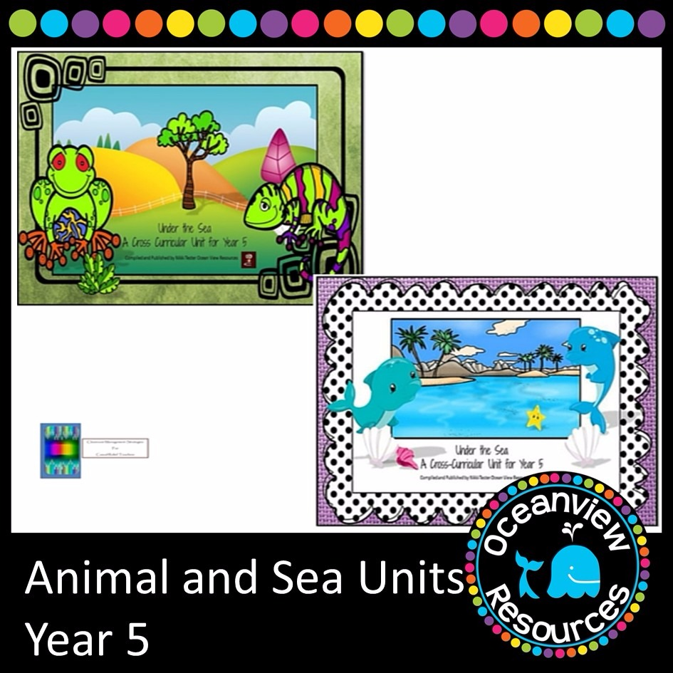 Animal and Sea Themed Bundle year 5