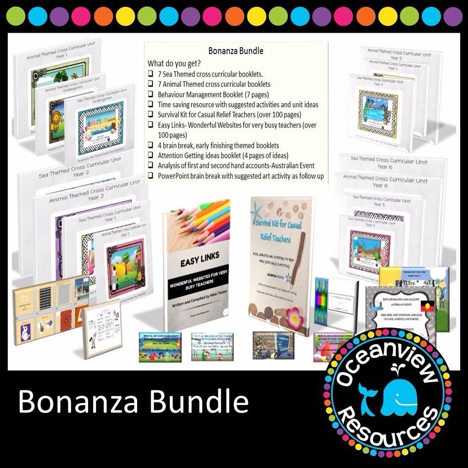 The Bonanza Bundle of Resources