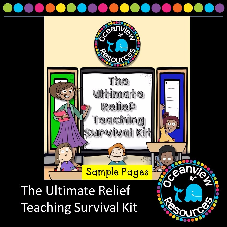 SAMPLE PAGES- The Ultimate Relief Teaching Survival Kit
