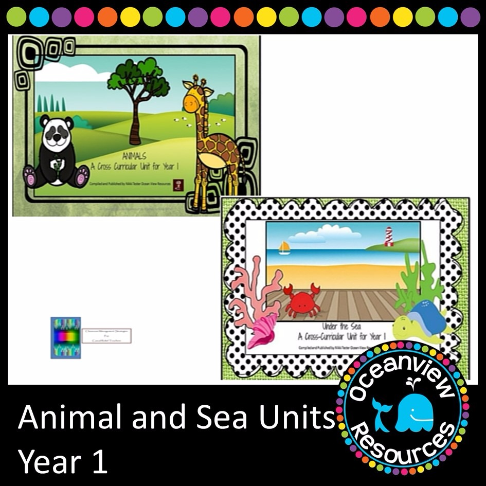 Animal and Sea Themed Bundle year 1