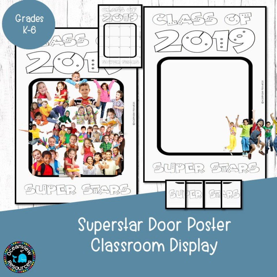 Classroom Door Display - Class Superstars