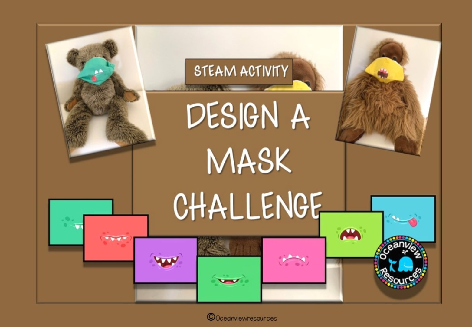 Design a Mask Challenge- ANIMALS