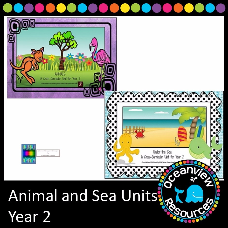 Animal and Sea Themed Bundle year 2