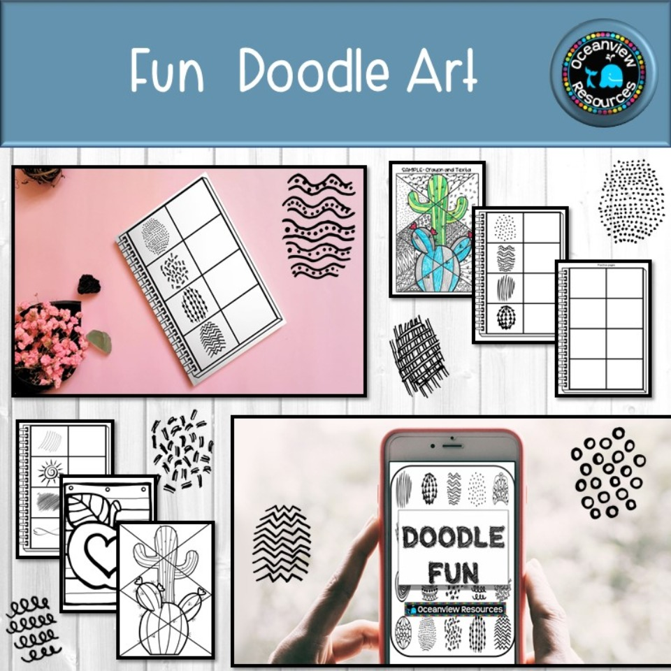 Doodle Art for Zentangles - exploring line and shape