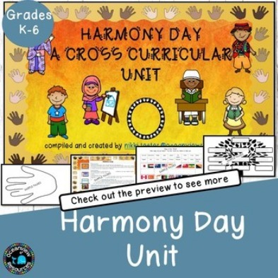 Harmony Day-Multicultural Cross Curricular unit