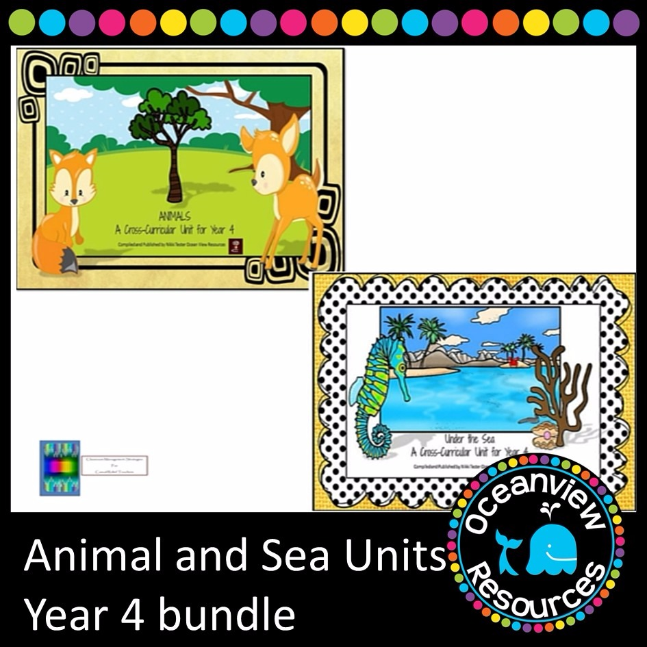 Animal and Sea Themed Bundle year 4