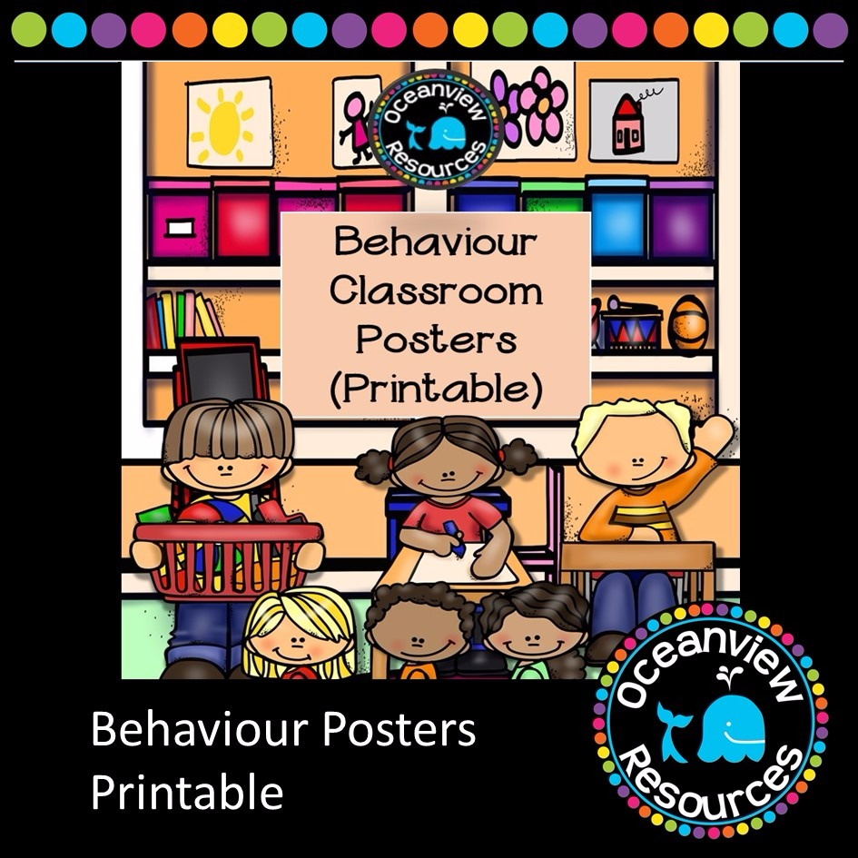 Behaviour Posters Printable