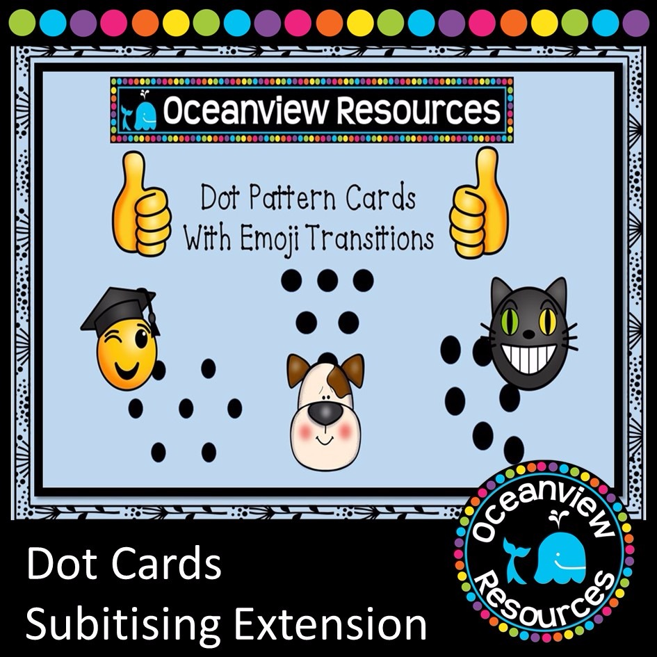 Dot Cards- Subitising Extension
