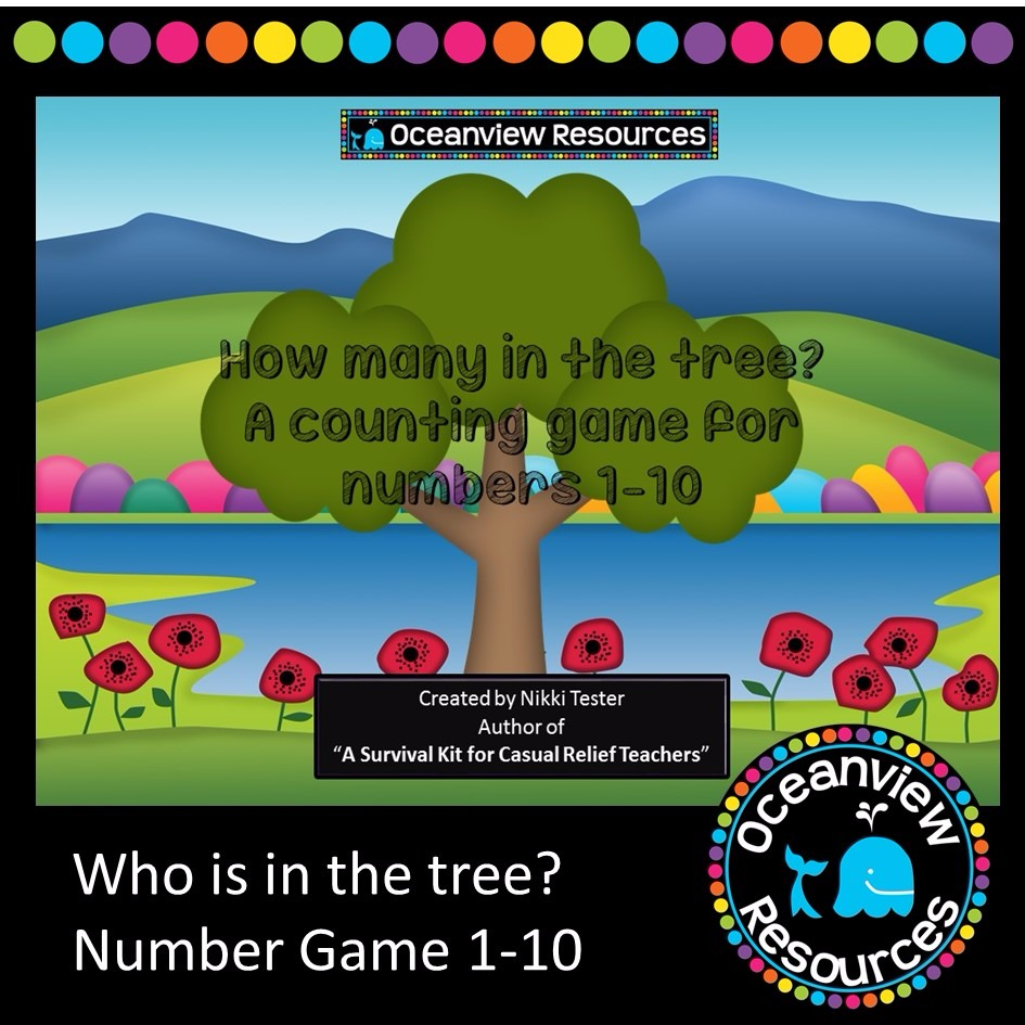 COUNTING GAME 1-10- What's in the tree?