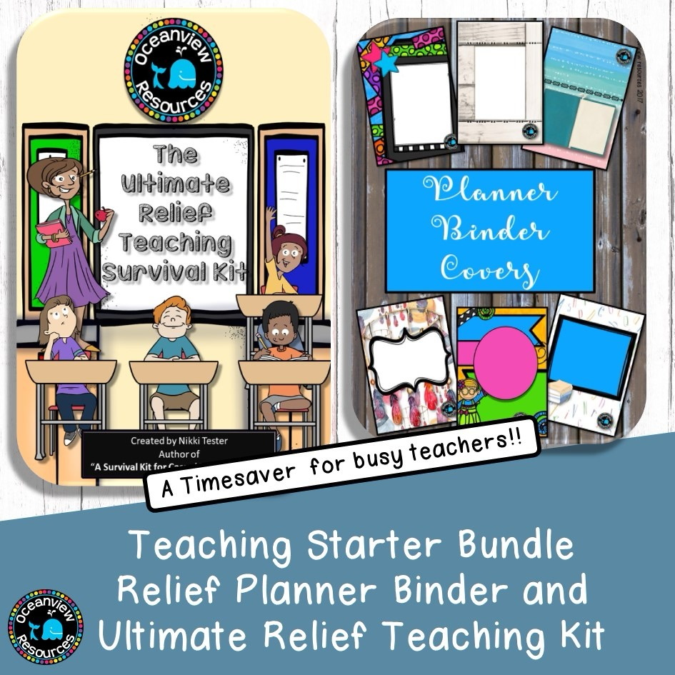 Relief Teacher Starter Bundle