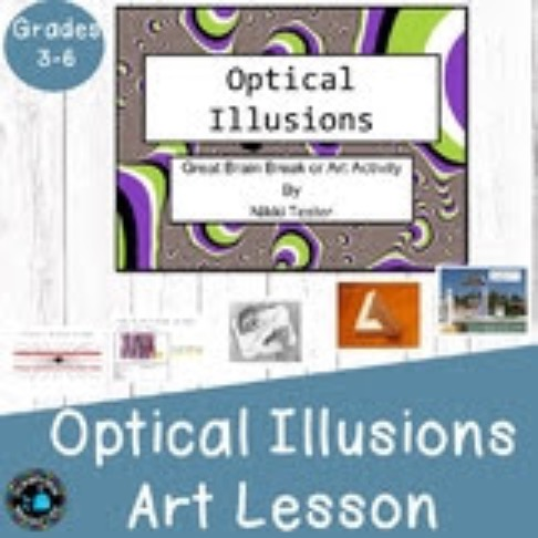 Optical Illusions Brain Break or Art Activity