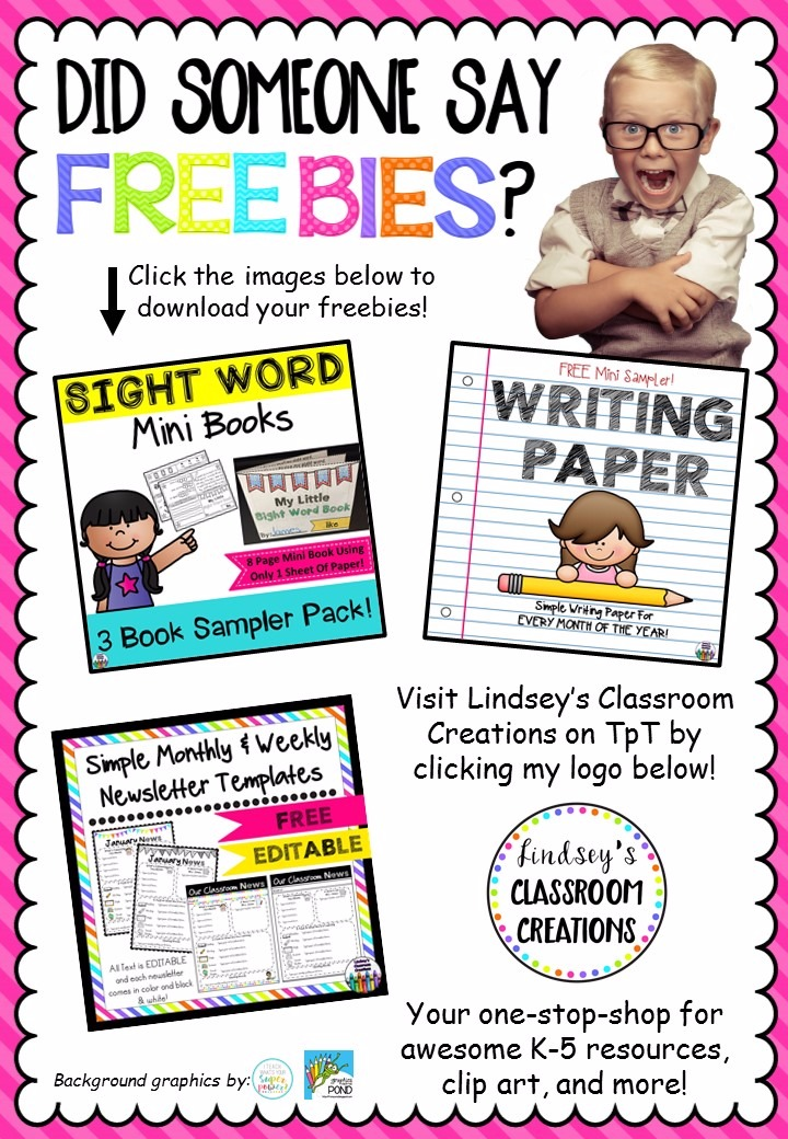 FREEBIE over 200 resources from TPT sellers