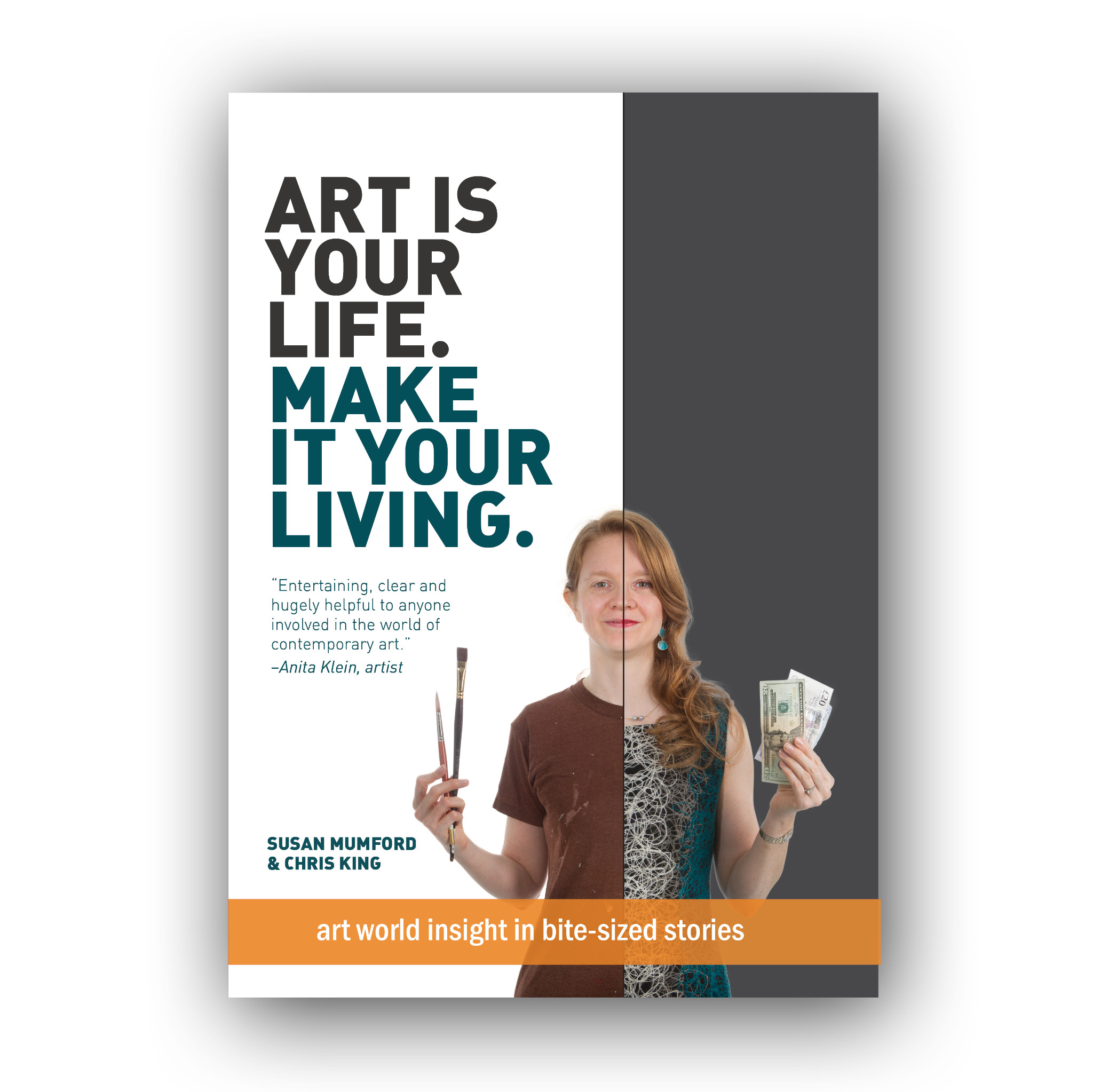 Book: 'Art is your life. Make it your living.' [GBP]
