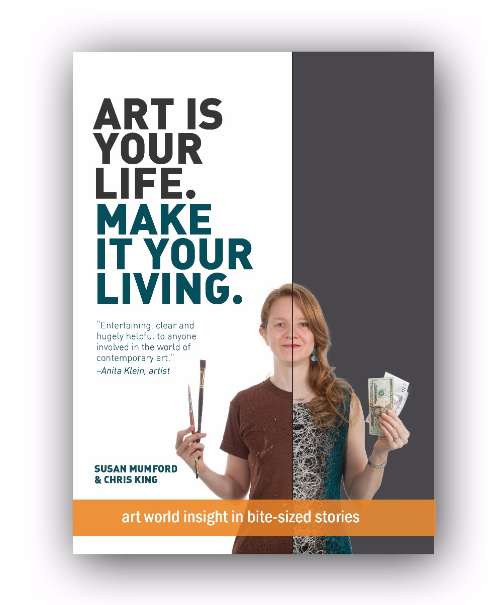 Book: 'Art is your life. Make it your living.' [USD]