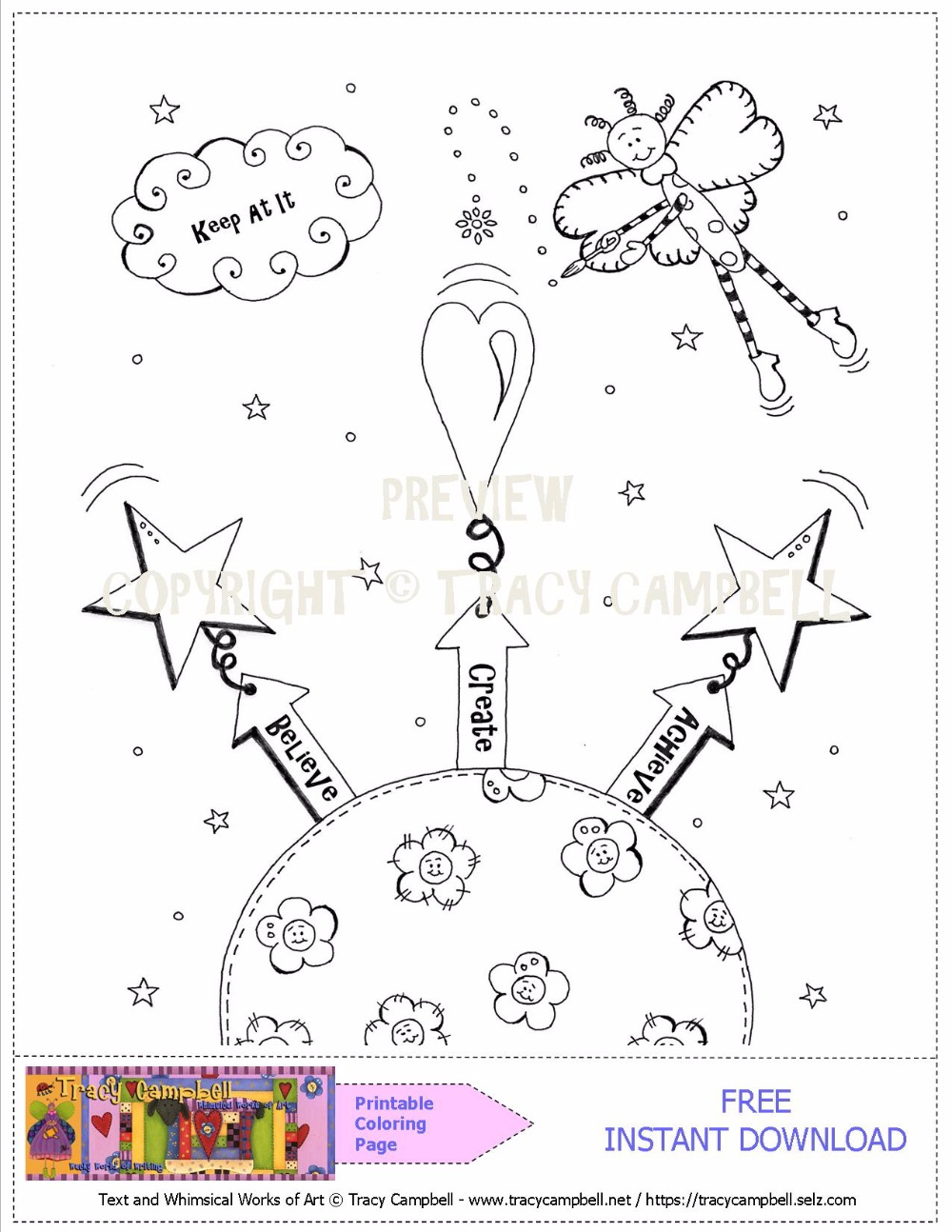 Free Printable Coloring Sheet