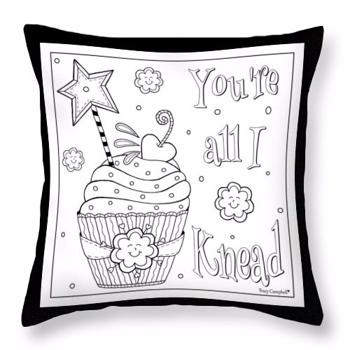 Printable Coloring Sheet—Baked with Love