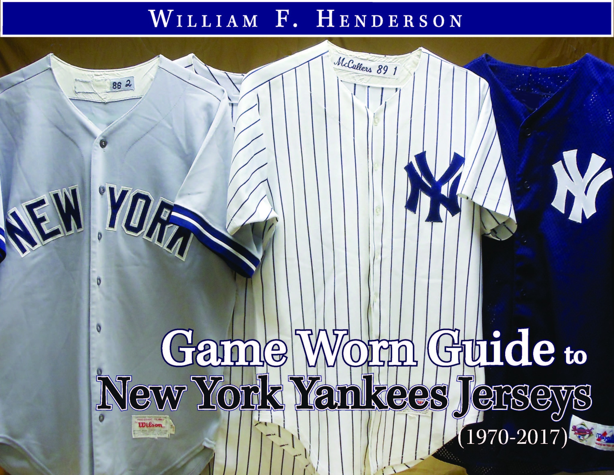 Game Worn Guide to New York Yankees Jerseys (1970-2017)