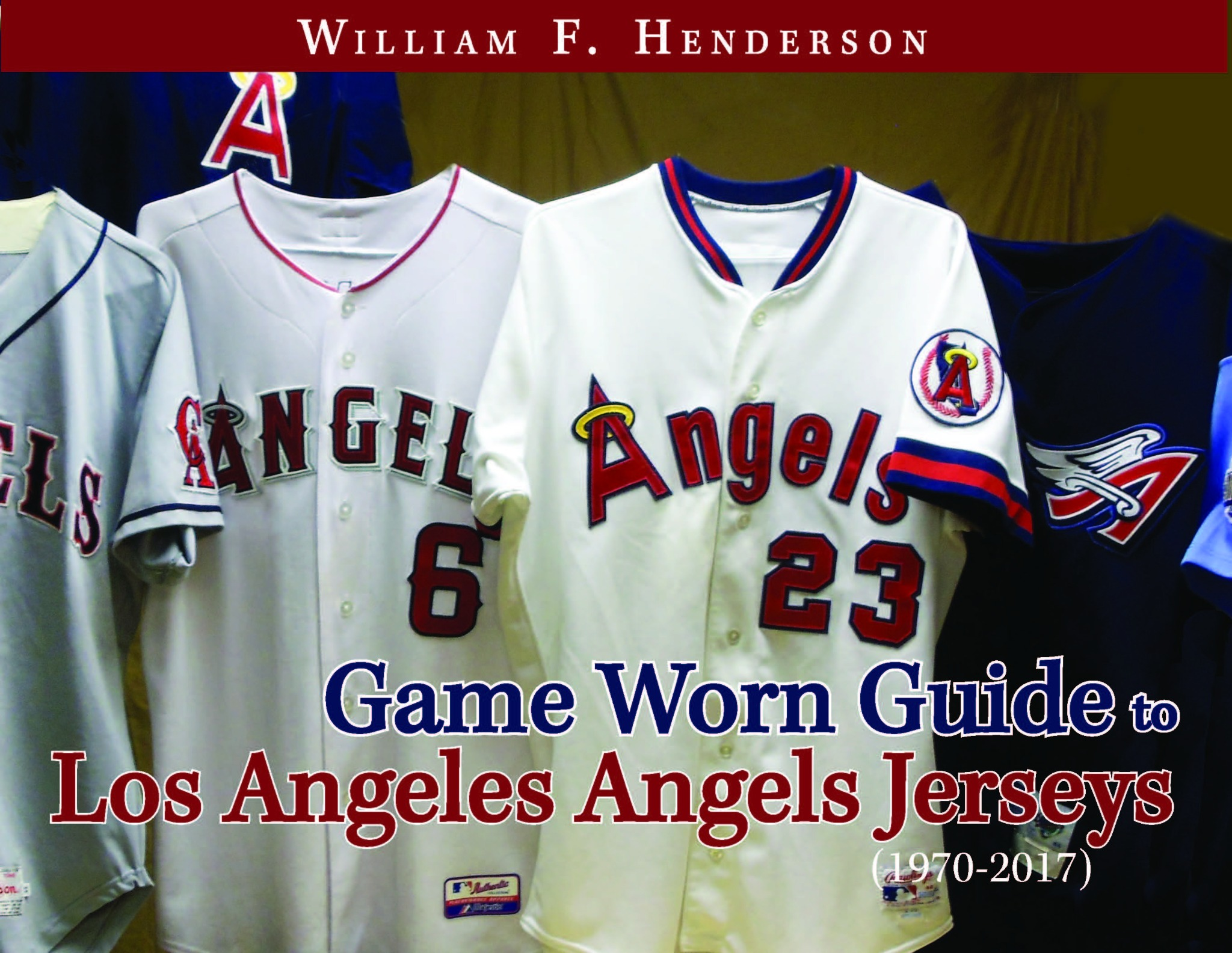 Game Worn Guide to Los Angeles/Anaheim/California Angels Jerseys (1970-2017)
