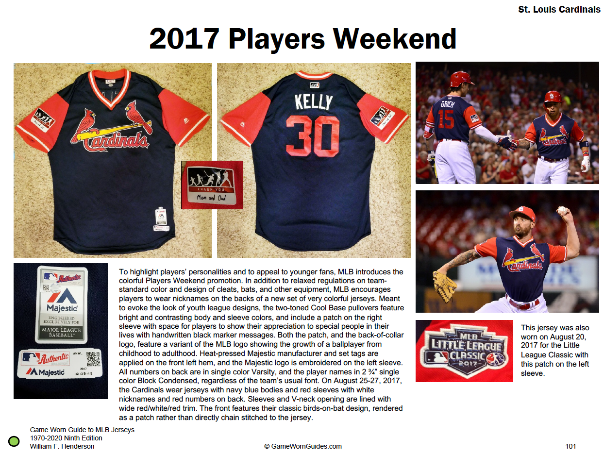 The 1970-2020 Game Worn Guide to MLB Jerseys by William F. Henderson, 9th edition