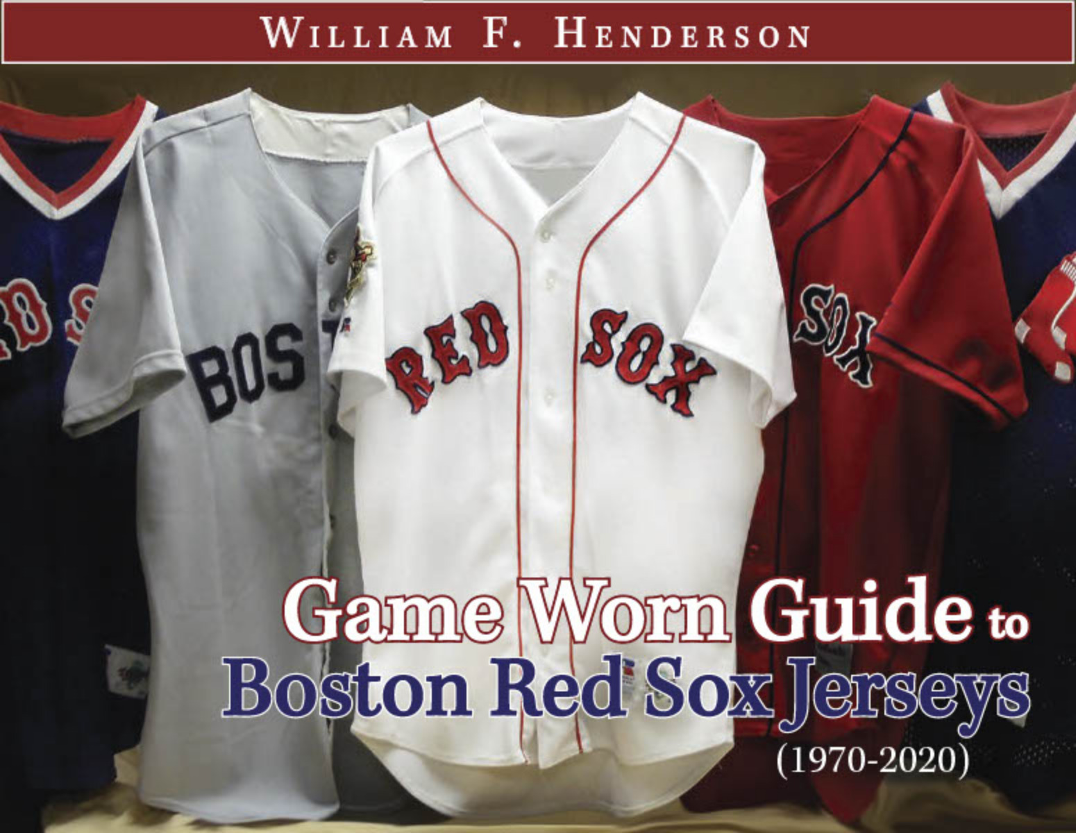 Game Worn Guide to Boston Red Sox Jerseys (1970-2020)