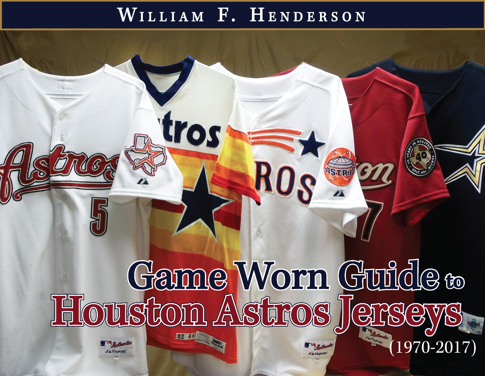 Game Worn Guide to Houston Astros Jerseys (1970-2017)