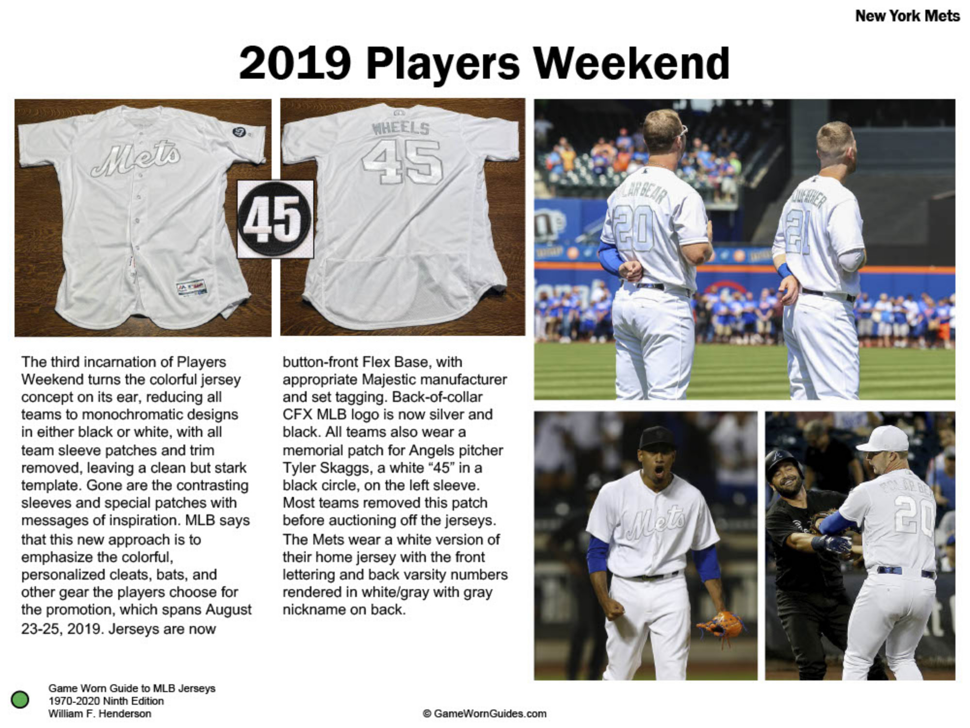 Game Worn Guide to New York Mets Jerseys (1970-2020)