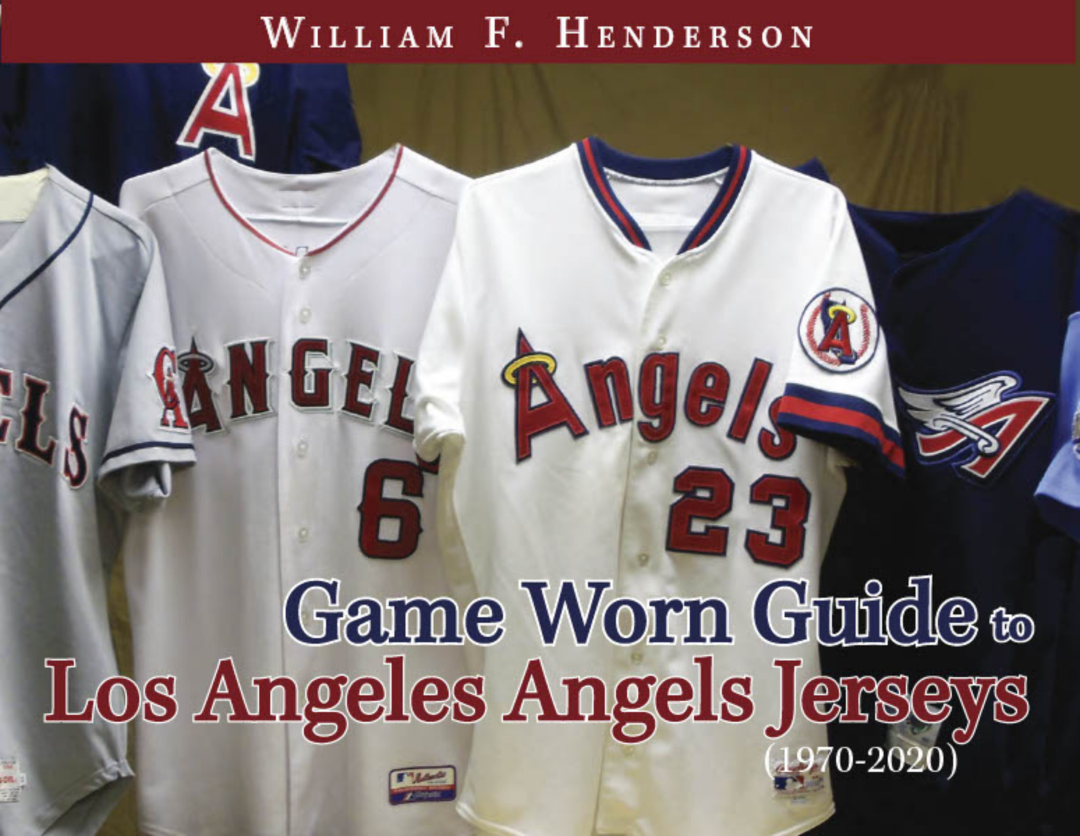 Game Worn Guide to Los Angeles/California/Anaheim Angels Jerseys (1970-2020)