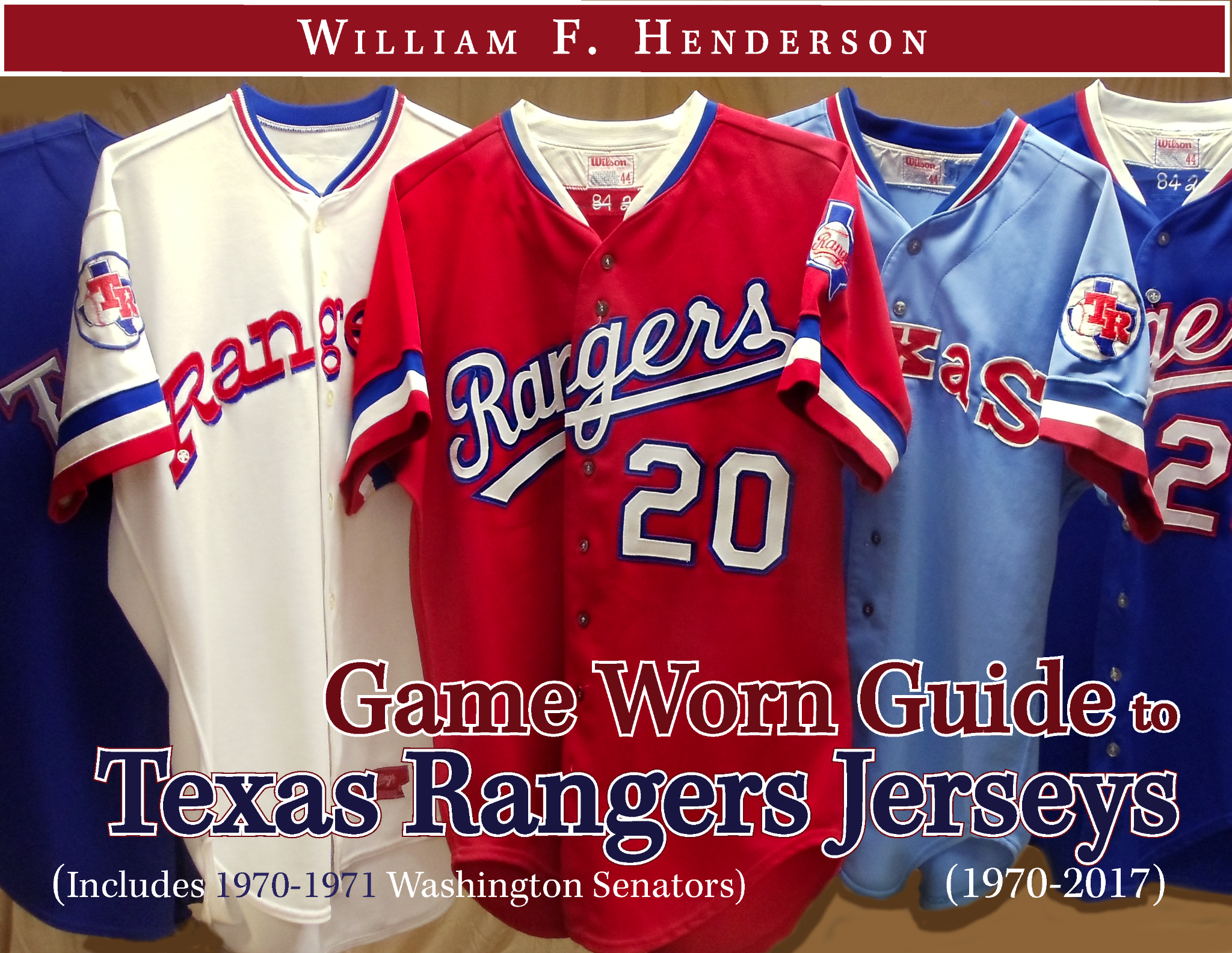 Game Worn Guide to Texas Rangers Jerseys (1972-2017)