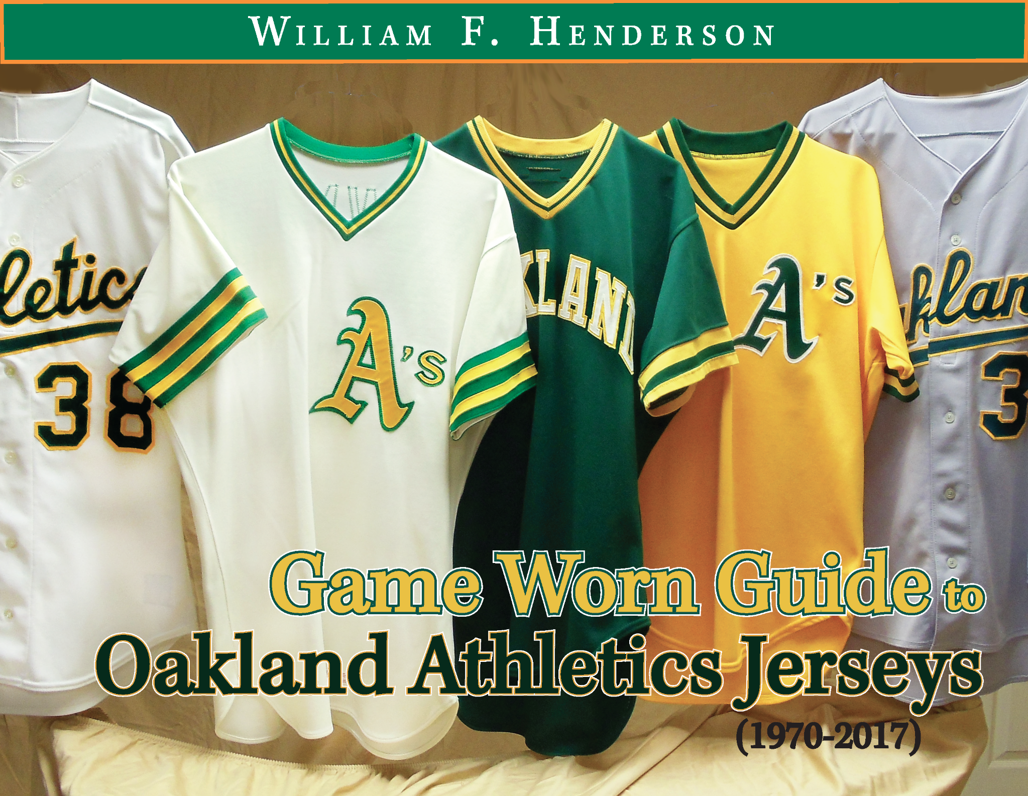Game Worn Guide to Oakland Athletics Jerseys (1970-2017)