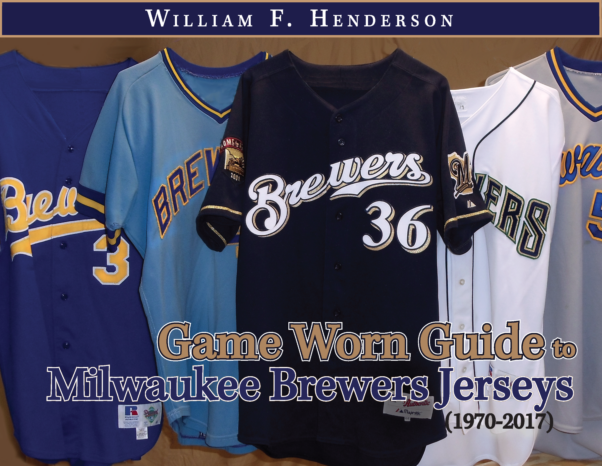 Game Worn Guide to Milwaukee Brewers Jerseys (1970-2017)
