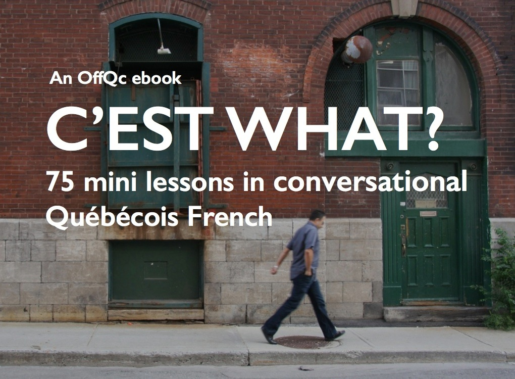 C'est what? 75 mini lessons in conversational Québécois French (PDF)