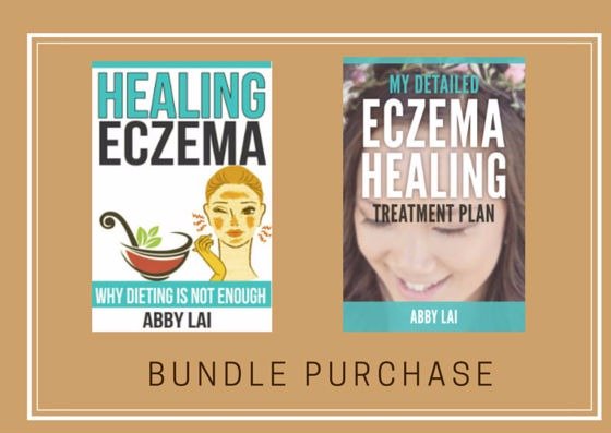 "2 eBook Bundle Purchase: ""Healing Eczema"" & ""My Personalized Eczema Healing Treatment Plan"" eBooks"